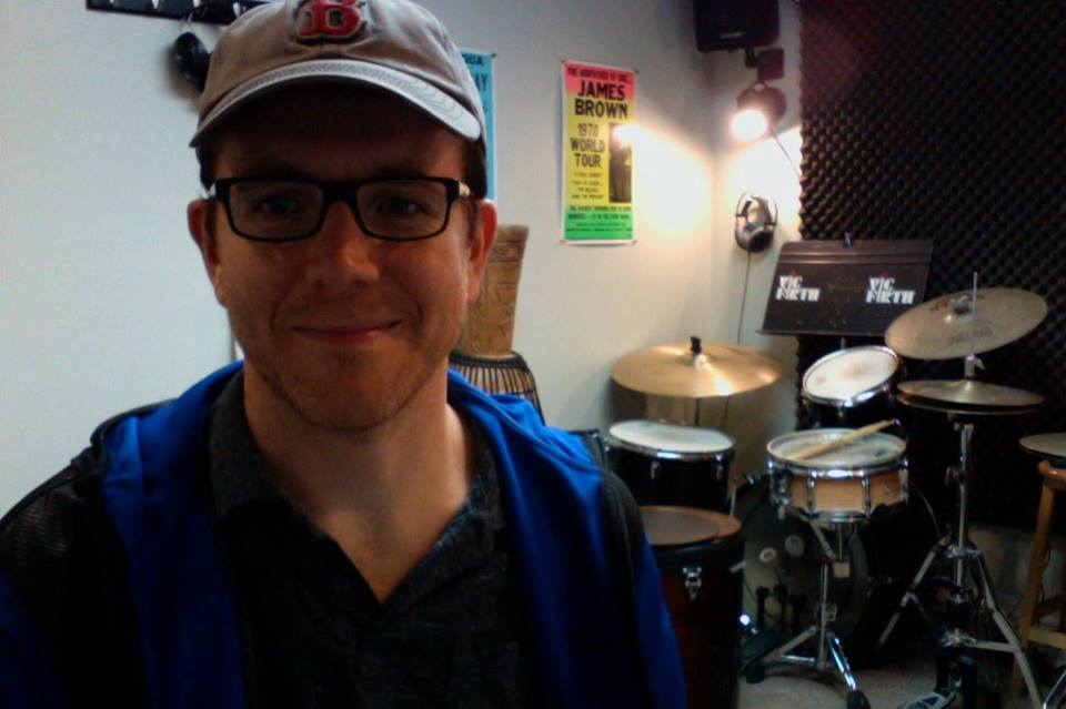 Corey Colmey teaches private drum lessons in Rome NY. All ages, levels and styles.